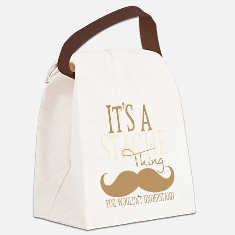 Its A Stache Thing Canvas Lunch Bag