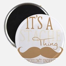 Its A Stache Thing Magnet