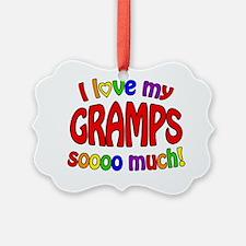 I love my GRAMPS soooo much! Ornament