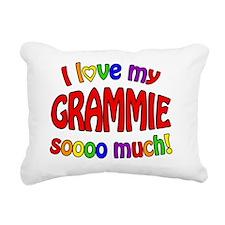 I love my GRAMMIE soooo  Rectangular Canvas Pillow