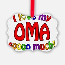 I love my OMA soooo much! Ornament