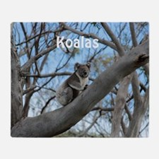 Koala Cover Throw Blanket