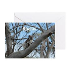 Koala Cover Greeting Card