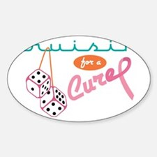Cruisin' For A Cure Decal