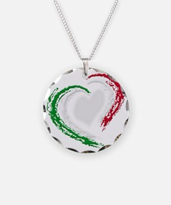 italian heart Necklace