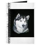 Gray Alaskan Malamute Journal