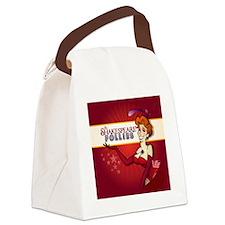 Alter Ego Pop Ornament SHAKESPEAR Canvas Lunch Bag
