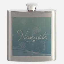 Namaste Round Ornament Flask