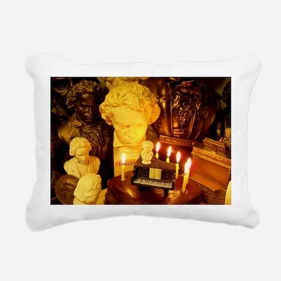 Beethovens Birthday Part Rectangular Canvas Pillow