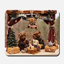 Boyd Bear Christmas Manger Mousepad