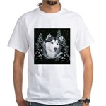 Alaskan Malamute with Snow White T-Shirt
