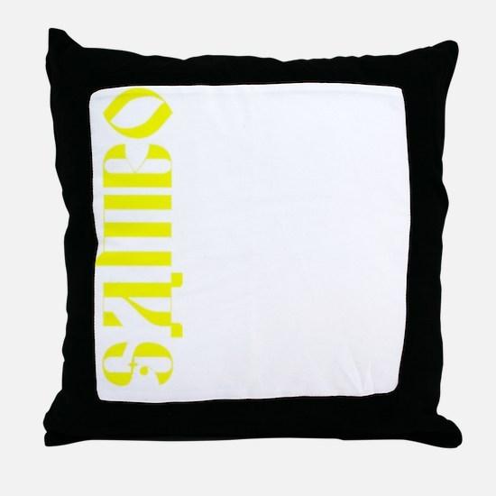 Sambo Throw T Throw Pillow