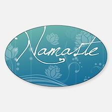 Namaste Travel Valet Decal