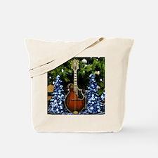 Gibson Blue Christmas Tote Bag