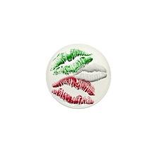 Italian Girls Mini Button