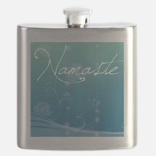 Namaste Shower Curtain Flask