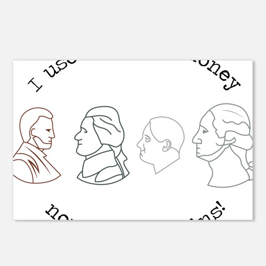 I Have Coins Postcards (Package of 8)