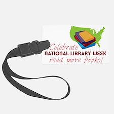 Library Week Luggage Tag