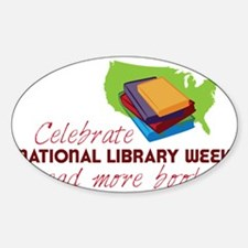 Library Week Decal