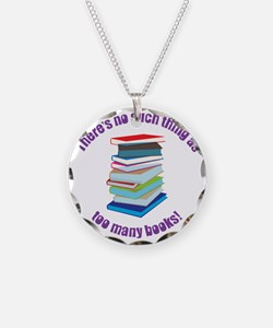 No Such Thing Necklace Circle Charm
