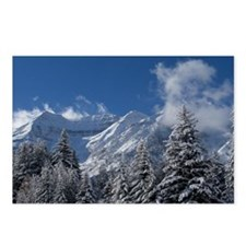 Mountain Ridge and Trees Postcards (Package of 8)