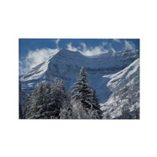 Beautiful Mountain Scene Rectangle Magnet
