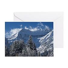 Beautiful Mountain Scene Greeting Card