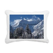 Beautiful Mountain Scene Rectangular Canvas Pillow