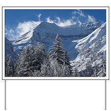 Beautiful Mountain Scene Yard Sign