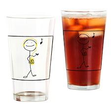 Remember the Walkman Drinking Glass
