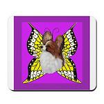 Colorful Papillion Mousepad