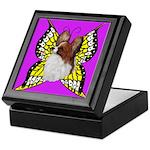 Colorful Papillion Keepsake Box