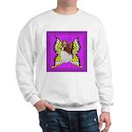 Colorful Papillion Sweatshirt