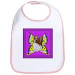 Colorful Papillion Bib