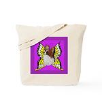 Colorful Papillion Tote Bag