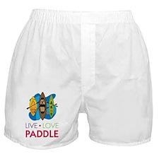 Live Love Paddle Boxer Shorts