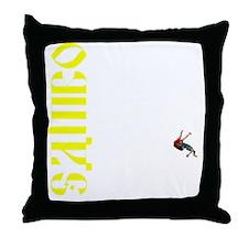 Newsamboshirtback Throw Pillow