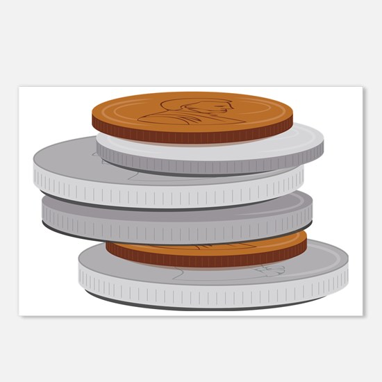 Coins Postcards (Package of 8)