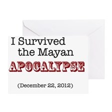 mayan1 Greeting Card