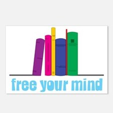 Free Your Mind Postcards (Package of 8)