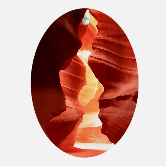 antelope Canyon Oval Ornament