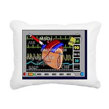 Cardiac Pillow CP Rectangular Canvas Pillow