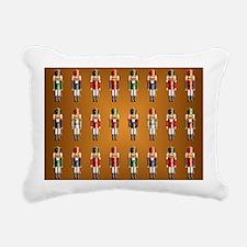 Nutcracker Rug Rectangular Canvas Pillow