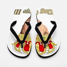 King George III v2 Flip Flops