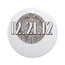 I Survived 12.21.12 and all I got w Round Ornament