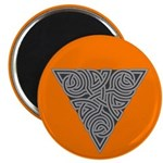 "Charcoal Triangle Knot 2.25"" Magnet (100 pack)"