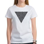 Charcoal Triangle Knot Women's T-Shirt
