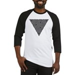Charcoal Triangle Knot Baseball Jersey