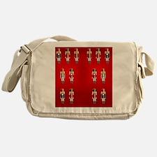 Nutcracker Flip-flops Messenger Bag