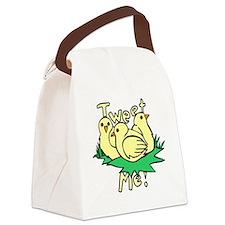 twitter tweet Canvas Lunch Bag